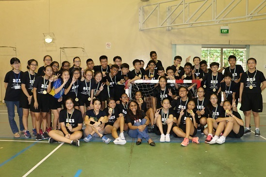 Secondary 2E5 handball champions.JPG